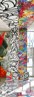 Street art at Wandelism 2018 in Berlin