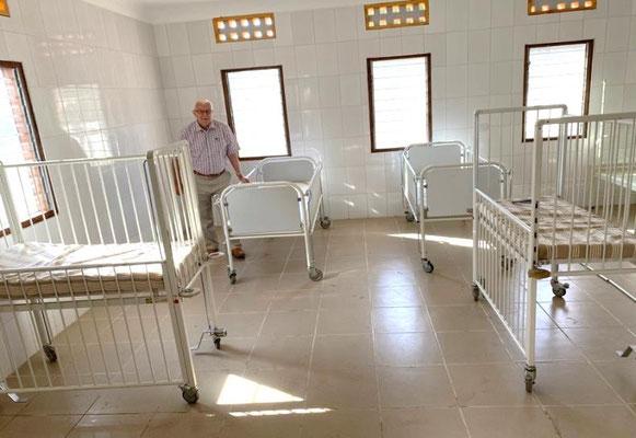 Die Kinderklinik wird Leben retten mit 15 Betten für Mütter und Kinder.