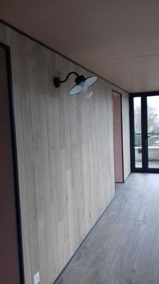 Fin du chantier de la véranda; sur Tours-Nord, Isabelle Mourcely, décoratrice UFDI à Tours 37000 et Chinon 37500. Crédit photo Isabelle Mourcely