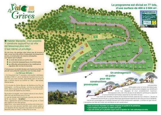 Plan de construction / Hectare • © recreacom.fr - Studio de création Christophe Houlès