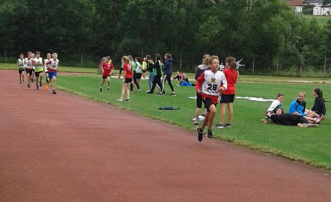 Nico Mairhofer - 7. Platz 1000m Bahnlauf