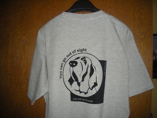 T-Shirt mit Flockdruck Tierpraxis Gehner Bielefeld, www.textildruck-hansa.de