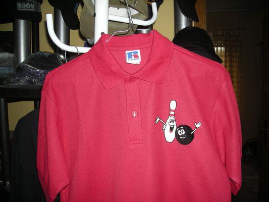Poloshirt Kegelclub, www.textildruck-hansa.de, MüllerHamm outdoor