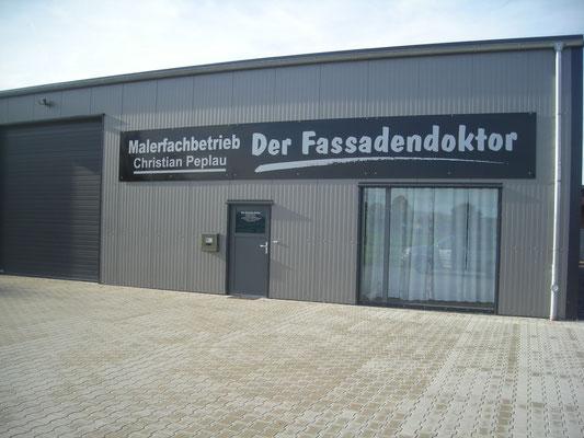 Malerfachbetrieb Peplau, www.textildruck-hansa.de, MüllerHamm outdoor