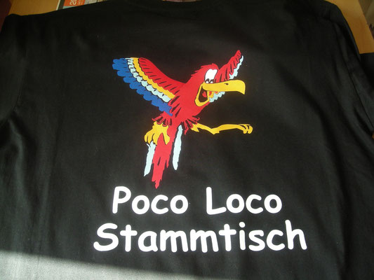 T-Shirt Flockdruck  Textildruck HanSa Sassenberg
