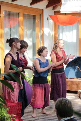 A Cappella! Das Ensemble Paraplü lädt ein - 8/2017 Glashaus Dorum