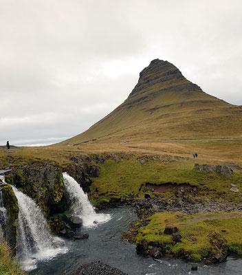 Le mont Kirkjufell au nord