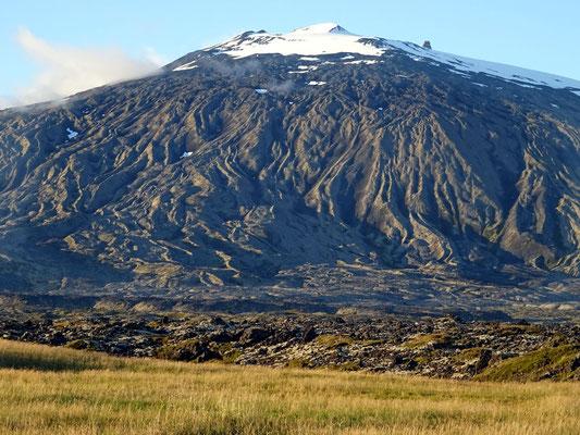 Le glacier-volcan Snaefellsjokull