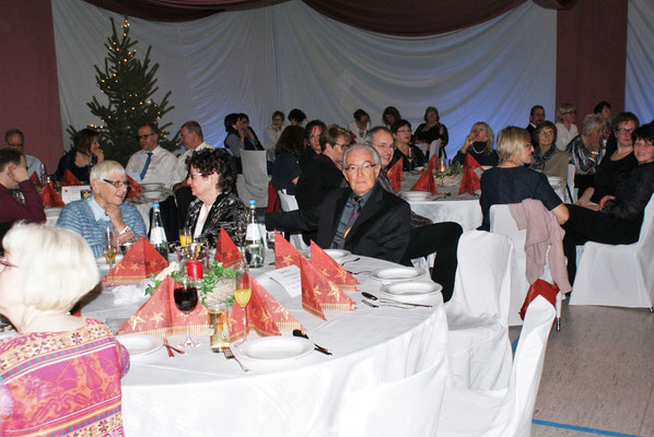 Weihnachtsfeier der Tanzsportabteilung (Foto: Wolfgang Stein)