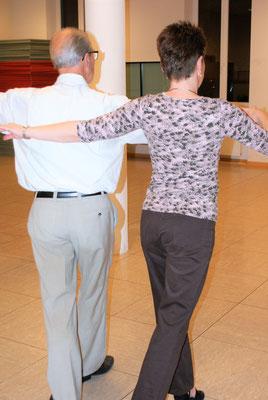 Tanztraining in der Brandsburg
