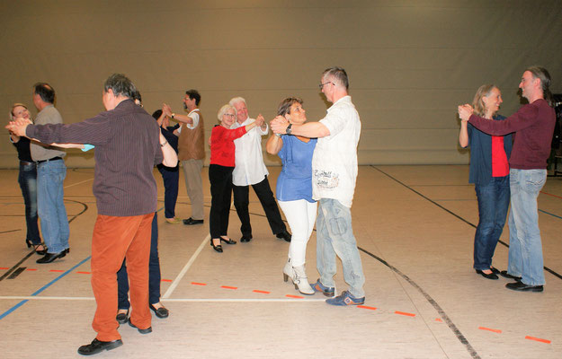 Tanztraining in der Harbig-Halle