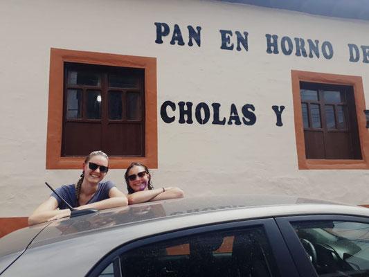 Verena und ich in Guano