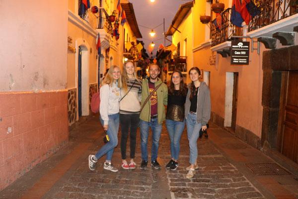in der Calle la Ronda
