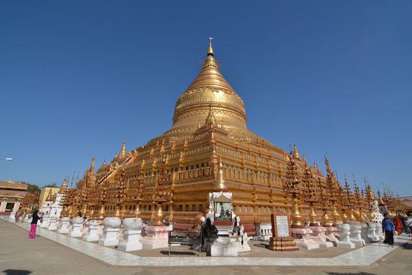 Shwezigon-Pagode in Bagan