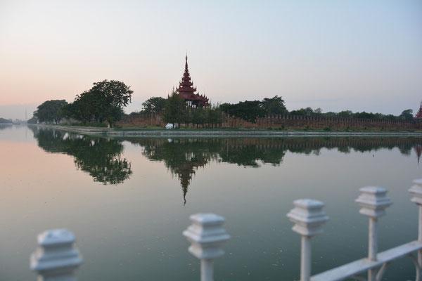 Mandalay, der ehemalige Königspalast