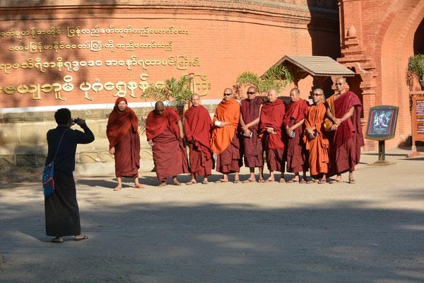 Mönche sind begeisterte Fotografen!!!
