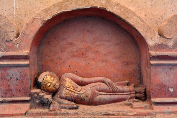 Schlafender Siddharta