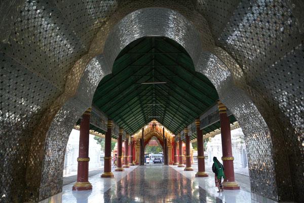 Mandalay, Zugang zur Kuthodow-Pagode