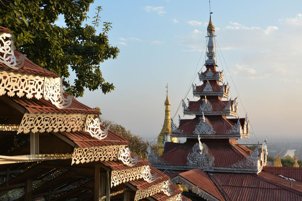 Mandalay, im ehemaligen Königspalast