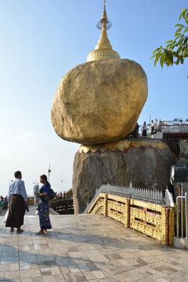 Am Goldenen Felsen