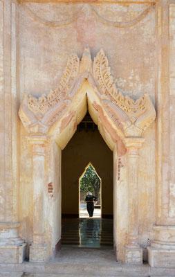Bagan, Fassadendetail am Ananda-Tempel