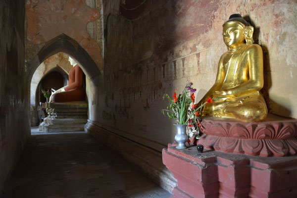 Im Sulamani-Tempel in  Alt-Bagan