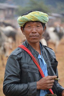 Viehhändler auf einem Markt