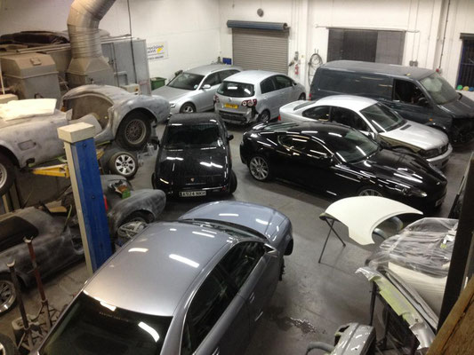 Our Busy Workshop! | Precision Paint | Wellington | Somerset