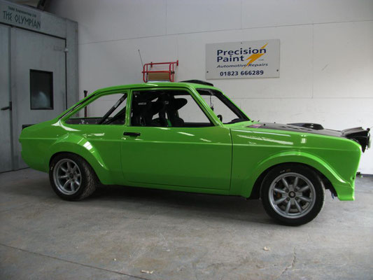 Mark 2 Ford Escort Rally Car Paint Restoration | Precision Paint | Wellington | Somerset