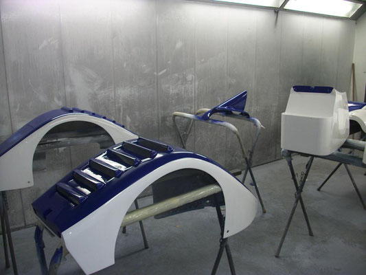 Craig Flemming's Formula 1 Race Track Juno | Paintwork by Precision Paint