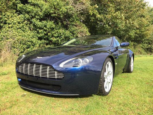 Early 2006 Aston Martin V8 Vantage Full Exterior Respray Completed