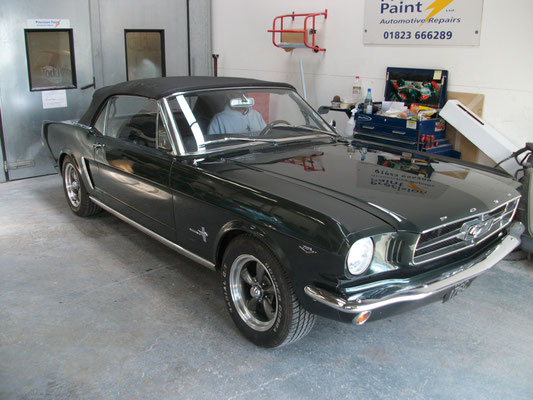 Ford Mustang Body Work Completed | Precision Paint | Wellington Somerset