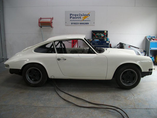 Vintage Porsche 911 Race Car Refurbishment | Precision Paint | Wellington Somerset