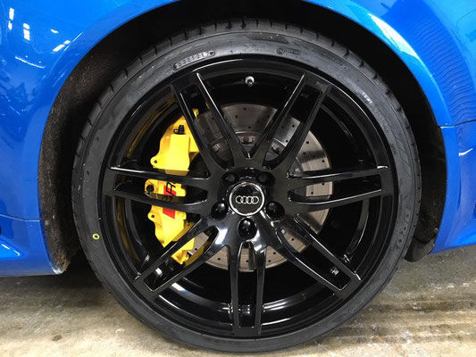 Alloy Close Up | Audi RS4 Customisation and Light Damage Body Repairs | Precision Paint | Wellington | Somerset