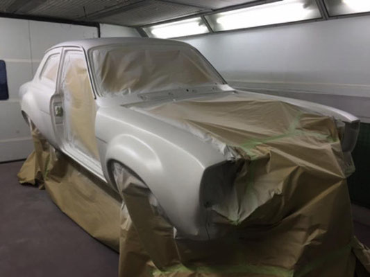 MK1 Ford Escort Build | Precision Paint Wellington