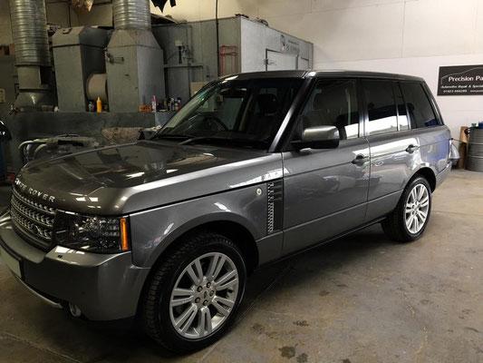 Range Rover Vogue Full Body Respray   Precision Paint   Wellington Somerset