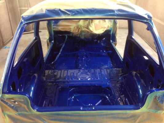 Rover Metro Race Car Build   Precision Paint   Wellington