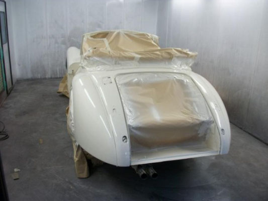 C;lassic Jaguar Respray | Precision Paint | Wellington | Somerset
