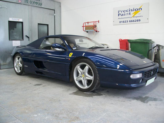 Ferrari Body Work | Precision Paint | Wellington