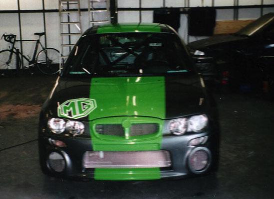 Rally Car Build Complete   Precision Paint   Wellington   Somerset