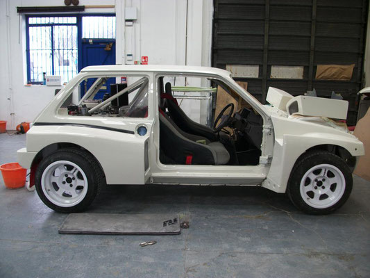 MG Metro 6R4 Rally Car | Precision Paint | Wellington | Somerset