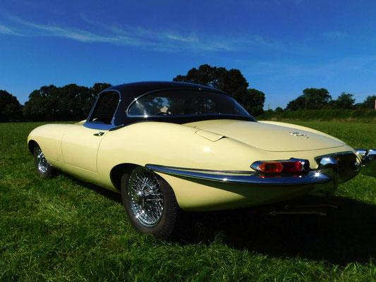 Jaguar E-Type Full Strip Down and Respray | Precision Paint | Wellington | Somerset