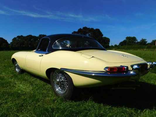 Jaguar E-Type Full Strip Down and Respray | Precision Paint | Wellington | Somerset