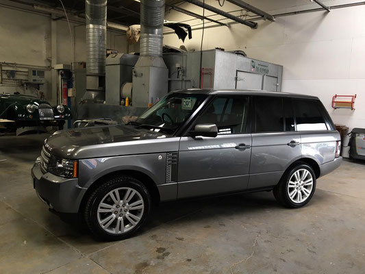 Range Rover Vogue Full Body Respray | Precision Paint | Wellington Somerset