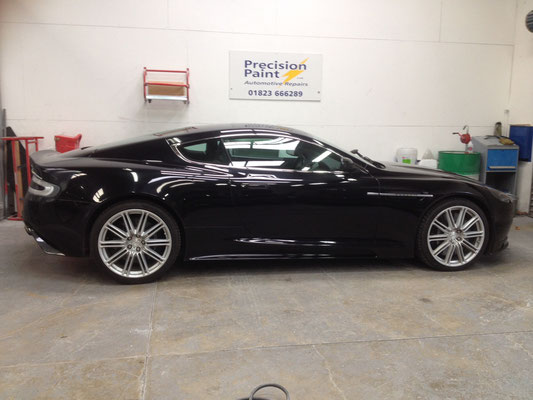 Aston Martin Road Car | Body Work | Precision Paint  | Wellington Somerset