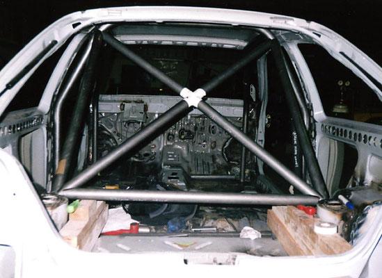 Rally Car Build Work In Progress   Precision Paint   Wellington   Somerset