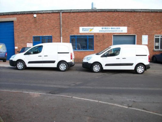 Commercial Vans | Strip Down | Precision Paint | Wellington | Somerset