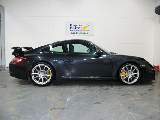 Finished Porsche | Precision Paint Wellington
