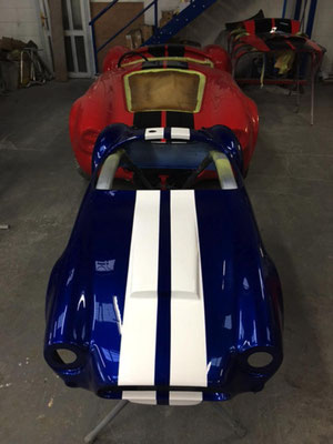 Cobra in Our Workshop | Precision Paint | Wellington | Somerset