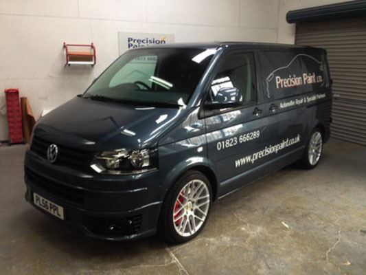 New Signwritten Van 2015 | Precision Piant Wellington